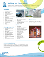 Top 26 Markets for Plastics: Building and Construction